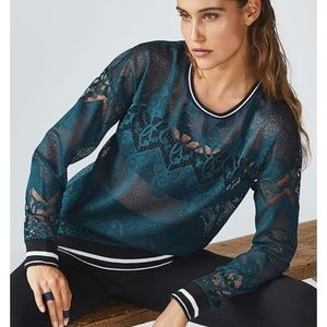 Fabletics Sophie lace tunic - worn once.